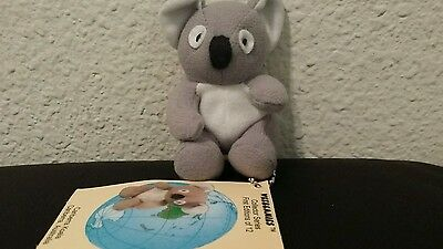 BRAND NEW VINTAGE WEEBEANIES COLLECTOR SERIES 1st EDITION/12 CANBERRA KOALA 1997