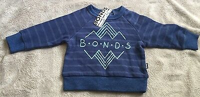 BONDS Blue Logo Size 0 *BNWT* Jumper. 10 Items = $5 Post