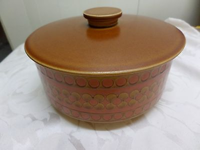 SAFFRON SERVING BOWL & COVERED TUREEN by HORNSEA - available separately
