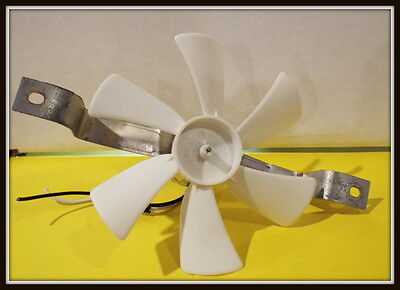 REPLACEMENT RANGE HOOD 12V motor with bracket and fan blade kit . RV CAMPER