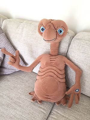 "RARE Giant  ET E.T. Toy 23"" Plush Talking Light Up Universal Toys R Us Exclusive"