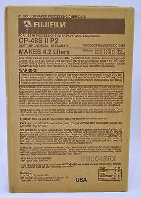 FujiFilm Universal Frontier (Liquid) CP48S ll P2 Bleach Fix Start Up