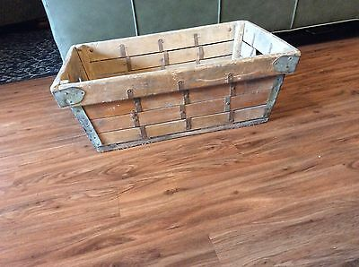 Antique Primitive Grape Harvest/Carrier Wood Crate NICE!