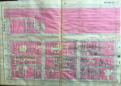 1870 FL MAP Fountainbleau Four Corners Fruit Cove Fruitville Fuller Heights BIG