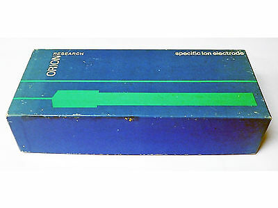 Orion Research 94-09A Fluoride Electrode With Instruction Manual