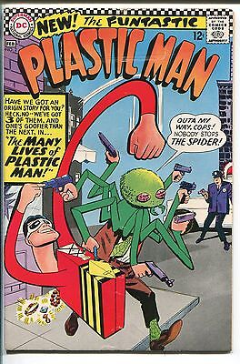 PLASTIC MAN #2 1967-DC COMICS-THE SPIDER-INCREDIBLE SPINE-vg+