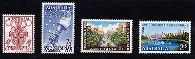 Australia 1956 Olympic Games Melbourne Sg290/293  Mnh