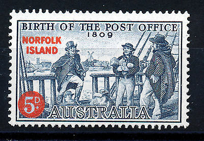 Norfolk Island 1959 Anniversary Of Australian Post Office Sg23  Mnh
