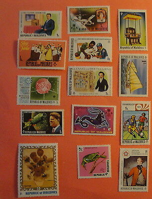 Republic of MALDIVES lot of Unused Postage Stamps