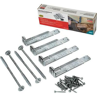 4 Pk Simpson Strong-Tie Deck Mount Tension Tie Kit With Fasteners DTT1Z-KT