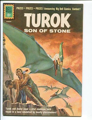Turok Son Of Stone #24-Dell-1961-Dinsosaur Cover And Stories- Rare Vf