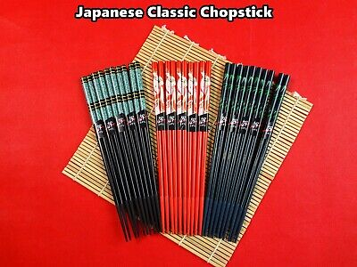 5 pairs High Quality Japanese Style Chopsticks (2 patterns available) NEW