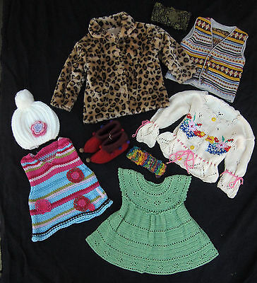 Girls Whimsical Winter Clothing Bundle Lot - Size 1