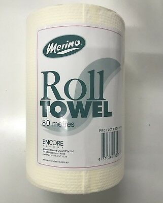 Paper Roll Towel 80mt x 16 packs. Reduced To clear. Free shipping