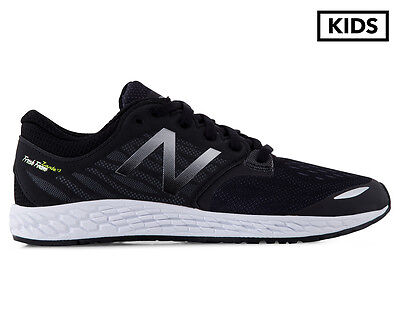 New Balance Grade School Boys' Fresh Foam Zante v3 Shoe - Black/Steel