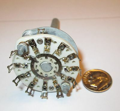 Crl Ceramic Rotary Switch  2 Pole - 6 Positions Non Shorting   1 Pcs.  Nos