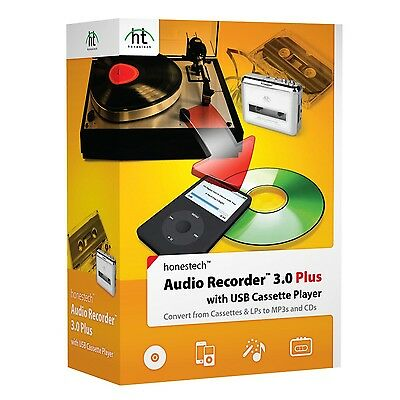 Honest Technology Audio Recorder 3.0 Plus with Cassette Player [CD-ROM] Windo...