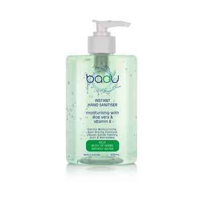 Badu Aloe Vera & Vitamin E Hand Sanitizer Gel 500ml Sanitize Kill Germs Hygenic