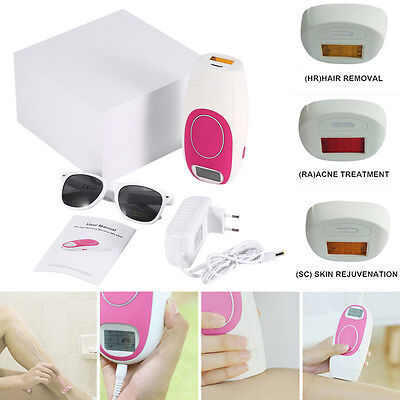3 in1 300000 Pulses Laser IPL Permanent Hair Removal Machine For Face and Body*