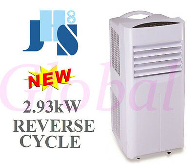JHS8 Reverse Cycle Portable Air conditioner 4 in 1 Cooling Heating Fan 2.93kW