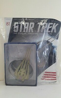 "Star Trek: The Official Starships Collection ~ ""xindi-Reptilian Warship"""