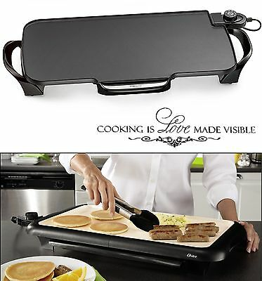 Electric Flat Top Grill Restaurant Professional Commercial 22'' Kitchen Griddle