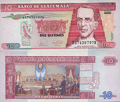 Guatemala 10 Quetzales (17.1.2007) - 1872 National Assembly/p111b UNC