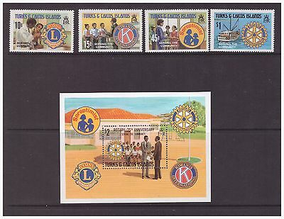 "Turks & Caicos Islands 1980 Emblems ""Serving the Community"" set    MNH mint"