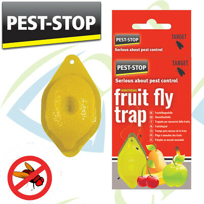 Fruit Fly Trap by Pest-Stop [PSFFT] [Indoor Insect Control] FREE P AND P