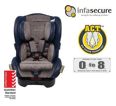 New Infasecure Luxi Vogue Convertible Kid Infant Baby Car Seat 0-8 years Cobalt
