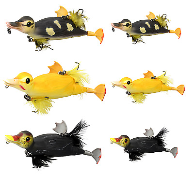 Savage Gear Suicide Duck 10,5Cm / 15Cm Alle Farben Natural / Yellow Ente Imitat