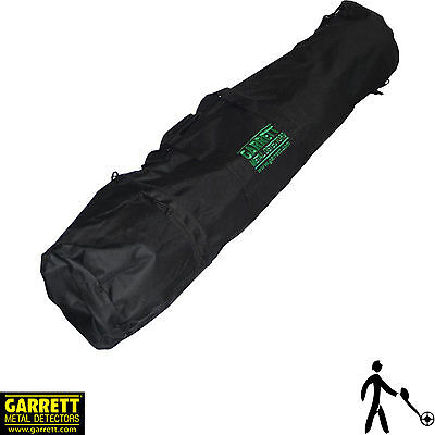 Garrett Black, 2 Pocket All purpose Metal Detector Carry bag