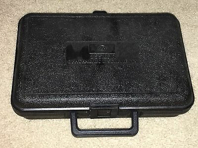 ESSILOR OPHTHALMIC INSTRUMENTS PUPILLOMETER HARD CASE black NEW CONDITION