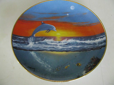 Spring of the Dolphin Collector's Plate from Franklin Mint