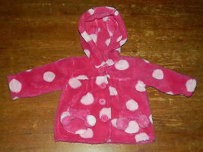 Girls Jacket With Hood Size 00