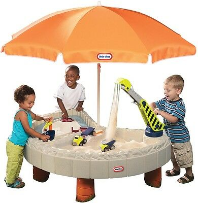 Little Tikes Builders Bay Sand And Water Table Toy Sandpit Outdoor Crane Toys