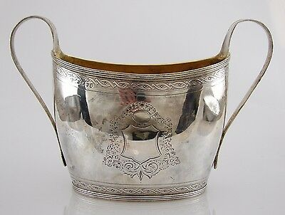 18th Century Antique Georgian Sterling Silver ROBERT AND DAVID HENNELL Ca. 1796