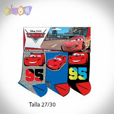 9441 -27 Pack 3 Calcetines de CARS T 27/30