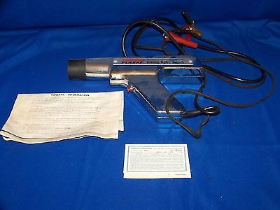 Vintage Sears Penske 244.2115 Timing Light Tested Works With Paperwork In GUC