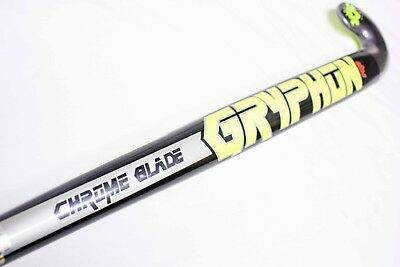 "Field Hockey Stick Gryphon Chrome Blade ( PRO 36.5"" or INDOOR 37.5"" ) NEW"