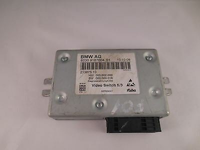 BMW F01 F02 F07 F06 F10 F11 F12 F13 F18 Video switch Control Unit 9187604