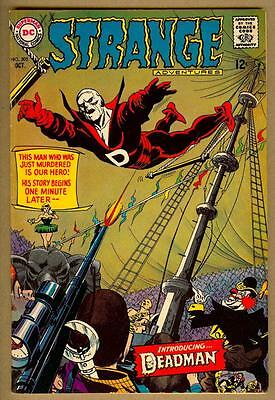 Strange Adventures #205 - 1st Appearance of Deadman -Neal Adams Cover- 6.5 Fine+