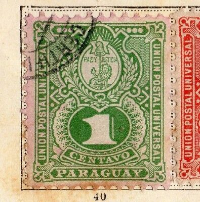 Paraguay 1887 Early Issue Fine Used 1c. 154103