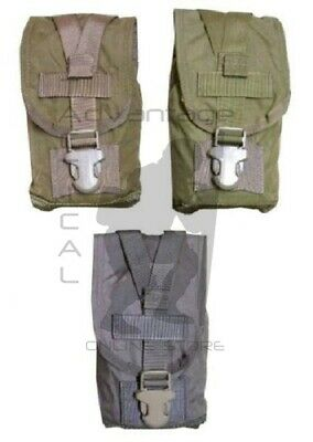 Eagle MOLLE 500D Canteen/Nalgene Bottle Pouch - choice of coyote, khaki, ranger