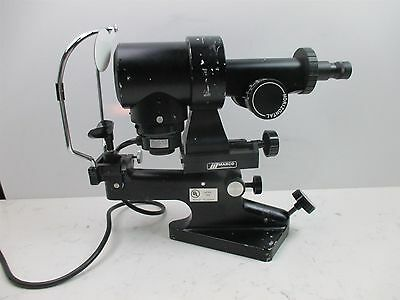 Marco Keratometer Ophthalmometer Ophthalmology Model 1 Quality Lab Unit Cornea