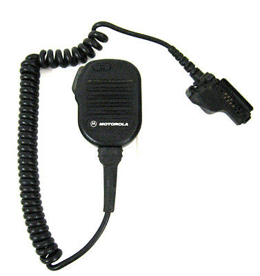 MOTOROLA NMN6193B Noise Cancelling Remote Speaker Mic for HT1000 XTS3000 XTS5000