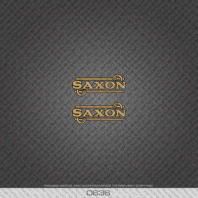 0337 Saxon Bicycle Stickers Transfers Decals