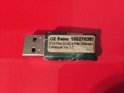 GE Intellution iFix version 4 Develop & unlimited Runtime  USB key