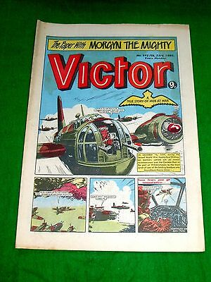 Wellington Bombers Over Wilhelmshaven Germany Ww2 Cover Story  Victor 1980