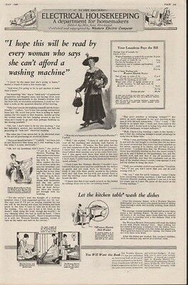 1920 Electric Housekeeping Home Appliance Iron Sewing7758